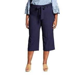 Ava & Viv career style cropped slacks